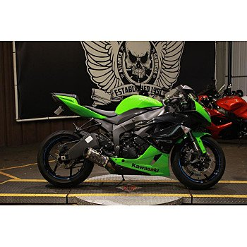 2012 Kawasaki Ninja ZX-6R for sale 200776259