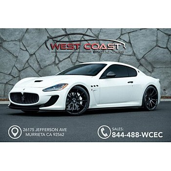 2012 Maserati GranTurismo MC Stradale Coupe for sale 101064621