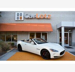 2012 Maserati GranTurismo Convertible for sale 101208666