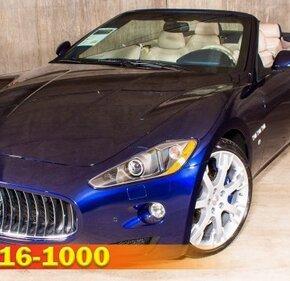 2012 Maserati GranTurismo Convertible for sale 101218418