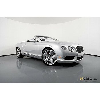 2013 Bentley Continental GT V8 Convertible for sale 101182320