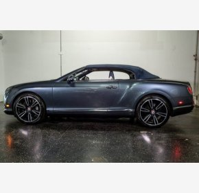 2013 Bentley Continental GT V8 Convertible for sale 101279013