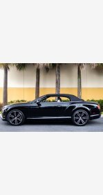 2013 Bentley Continental GT V8 Convertible for sale 101359870
