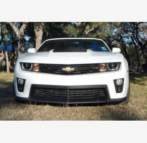 2013 Chevrolet Camaro ZL1 Convertible for sale 100740610