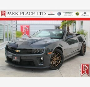 2013 Chevrolet Camaro ZL1 Convertible for sale 101198247