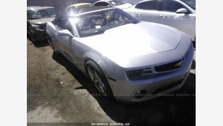 2013 Chevrolet Camaro LT Convertible for sale 101222391