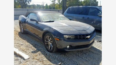 2013 Chevrolet Camaro LT Convertible for sale 101241018