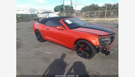 2013 Chevrolet Camaro SS Convertible for sale 101440723
