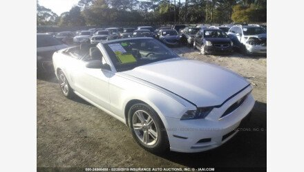 2013 Ford Mustang Convertible for sale 101110484