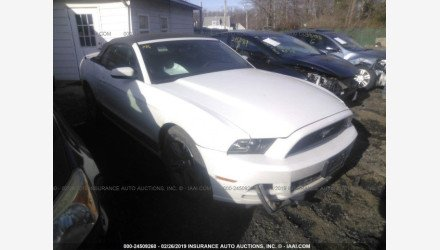 2013 Ford Mustang Convertible for sale 101113400