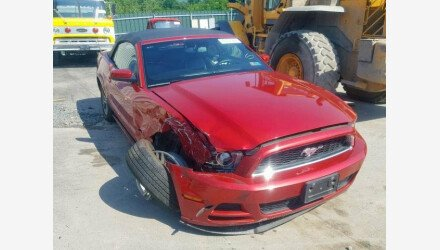 2013 Ford Mustang Convertible for sale 101191485
