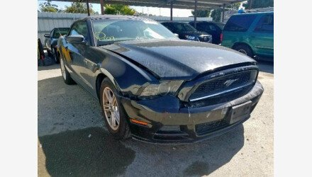 2013 Ford Mustang Convertible for sale 101220755