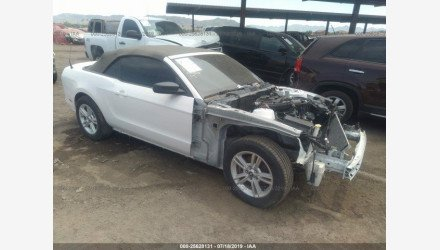 2013 Ford Mustang Convertible for sale 101221627