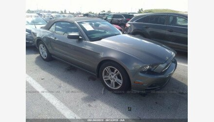 2013 Ford Mustang Convertible for sale 101224489