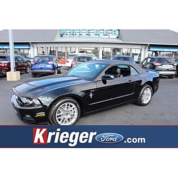 2013 Ford Mustang Convertible for sale 101233428