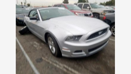2013 Ford Mustang Convertible for sale 101287904