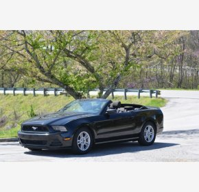 2013 Ford Mustang Convertible for sale 101307650
