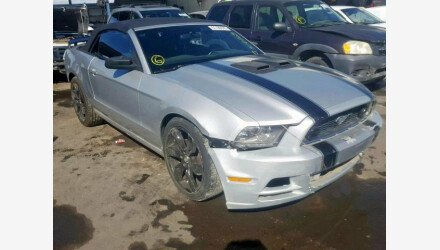 2013 Ford Mustang Convertible for sale 101307913