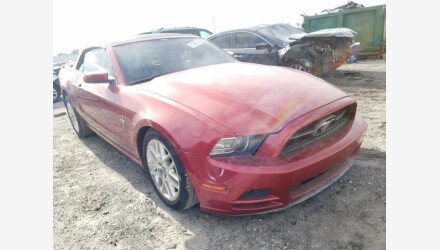 2013 Ford Mustang Convertible for sale 101396389