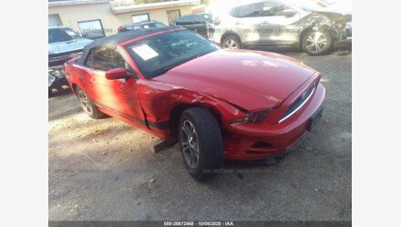 2013 Ford Mustang Convertible for sale 101411640