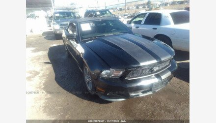 2013 Ford Mustang Convertible for sale 101413316