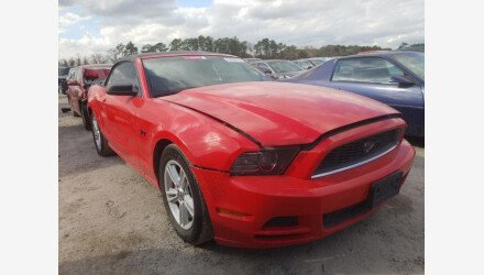 2013 Ford Mustang Convertible for sale 101440630