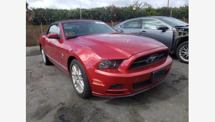2013 Ford Mustang Convertible for sale 101493239