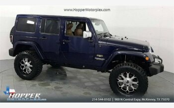 2013 Jeep Wrangler 4WD Unlimited Sahara for sale 101040647
