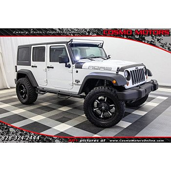2013 Jeep Wrangler 4WD Unlimited Sahara for sale 101071371