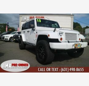 2013 Jeep Wrangler 4WD Unlimited Sahara for sale 101025369