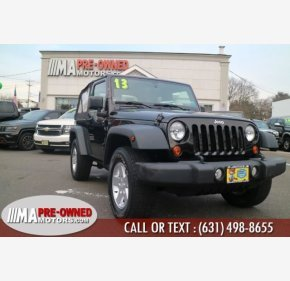 2013 Jeep Wrangler 4WD Sport for sale 101283816