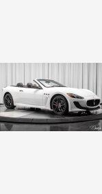 2013 Maserati GranTurismo Sport Convertible for sale 101111266