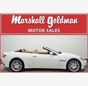 2013 Maserati GranTurismo Convertible for sale 101112368