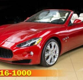 2013 Maserati GranTurismo Convertible for sale 101287556