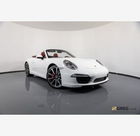2013 Porsche 911 Carrera S Cabriolet for sale 101065903