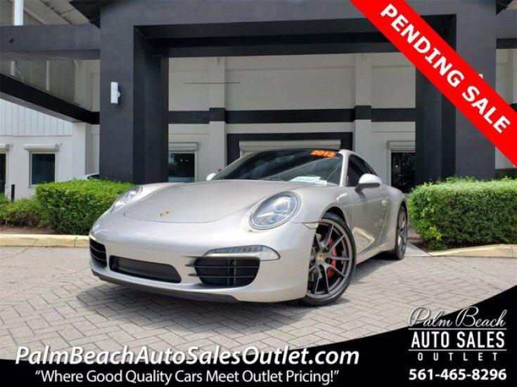 2013 Porsche 911 Carrera S for sale 101561735