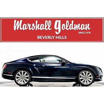 2014 Bentley Continental GT Coupe for sale 101112520