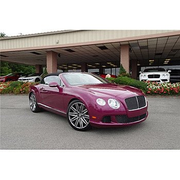 2014 Bentley Continental GTC Speed Convertible for sale 101181590