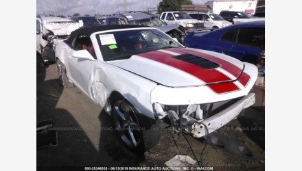 2014 Chevrolet Camaro SS Convertible for sale 101192495
