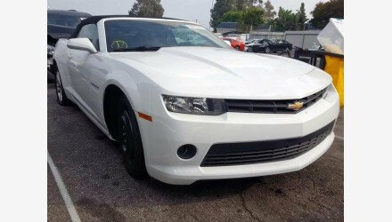 2014 Chevrolet Camaro LT Convertible for sale 101273110