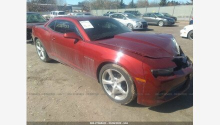 2014 Chevrolet Camaro LT Coupe for sale 101325041