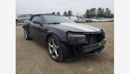 2014 Chevrolet Camaro LT Convertible for sale 101488390
