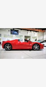 2014 Ferrari 458 Italia Spider for sale 101435456