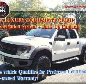 2014 Ford F150 4x4 Crew Cab SVT Raptor for sale 101211908