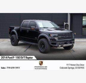 2014 Ford F150 4x4 Crew Cab SVT Raptor for sale 101242711