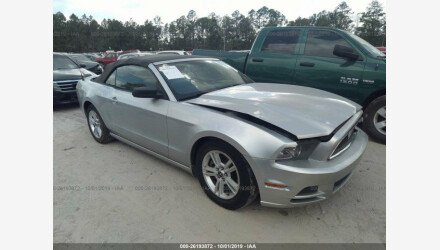 2014 Ford Mustang Convertible for sale 101217521