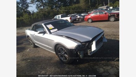 2014 Ford Mustang Convertible for sale 101220792