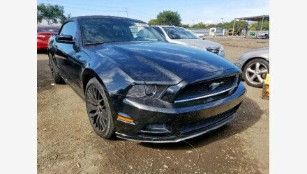 2014 Ford Mustang Convertible for sale 101221465