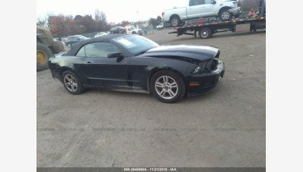 2014 Ford Mustang Convertible for sale 101251433