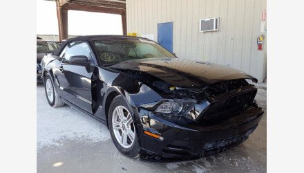 2014 Ford Mustang Convertible for sale 101360751